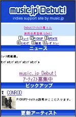 music.jp debut!