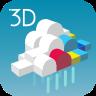3D雨雲ウォッチ icon